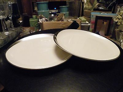 2 Pickard CRESCENT Platinum Ivory Salad Plates MINT - Multiples Available