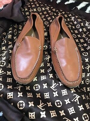 ROCKPORT CAMEL SZ 10M LEATHER Casual Slip On APW23866