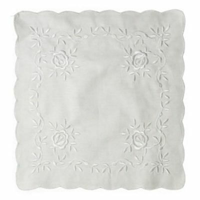 Handkerchief - Roses Embroidery