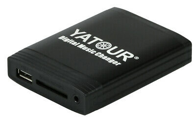 Yatour USB SD AUX MP3 Adapter + Bluetooth Freisprechanlage Toyota und Peugeot