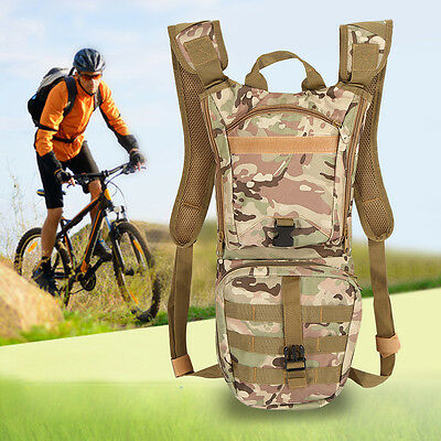 6 Colors 3L Water Bladder Bag Hydration Backpack Pack Hiking Camping Cycling MF