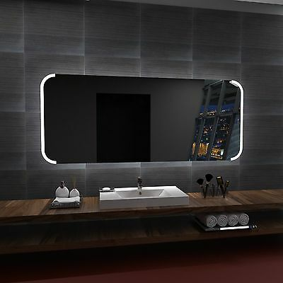 LED illuminated Mirror ONTARIO 100x60 cm | Modern design | Wall mounted