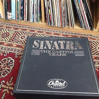 "Sinatra ""the capital years"" Frank Sintra 20 lp vinyl collection rare"