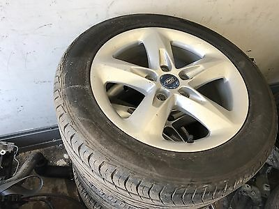 Ford Focus Genuine 16 Alloy Wheels With Tyres