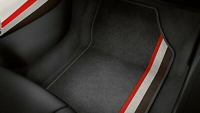 New Genuine Audi A1 Competition 'legends' Front + Rear Carpet Floor Mats Set