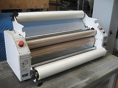LARGE FORMAT LAMINATOR...EMSEAL THERMAL COMMERCIAL LAMINATOR Model:810 + 2 ROLLS