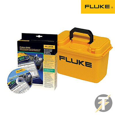 Fluke C1600 Multifunction & PAT Tester Case with DMS COMPL Software Software