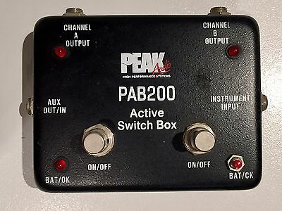 Peak Audio PAB200 Amp Switch Box