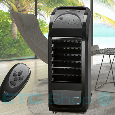 Design Fan Air cooler Humidifier 4,5 L Water tank Remote control 3 steps modern