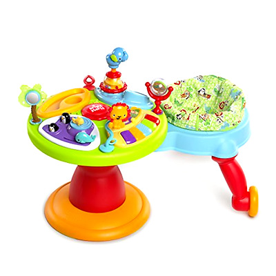 Around We Go 3in1 Baby Activity Center Zippity Zoo with Action Reaction Station
