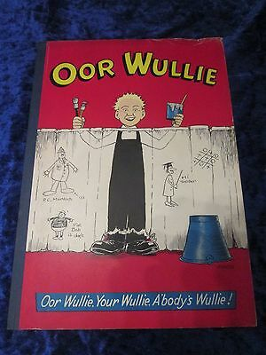 Oor Wullie Annual 1959 Dudley D Watkins DC Thomson Terrific Condition