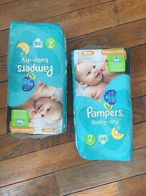 couches pampers taille 2