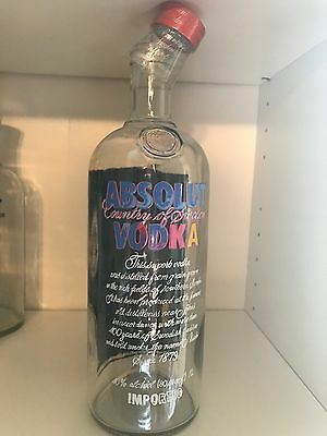 Absolut Vodka Andy Warhol Empty - No alcohol 1L