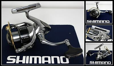 Shimano Twin Power C3000 Spinnrolle Hagane Made in Japan Frontbremse