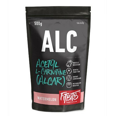 ALCAR Powder Acetyl L Carnitine . Watermelon Unflavoured . 500g  1kg Weight Loss