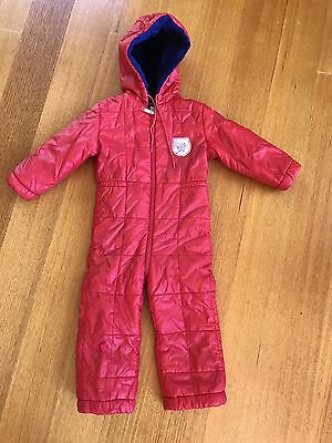 Skiss Kid Snow Winter Overall Size 1 Fits 1-2
