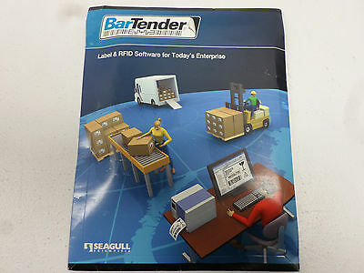 Seagull BarTender BarCode Software, Automation Print Only Version 9.40   BTP-A3