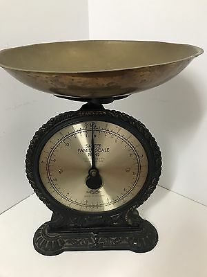 Salter Family Kitchen Scales No 45 Vintage (Antique Reproduction)