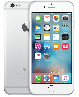 Apple iPhone 6 Plus 64GB Silver Unlocked - Good Condition.