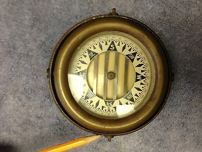 Vintage Gimbal Compass by Wilcox Crittenden