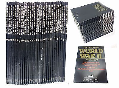 The History of World War II ( 2 ) - 30 Volumes - Complete Set - FREE UK DELIVERY