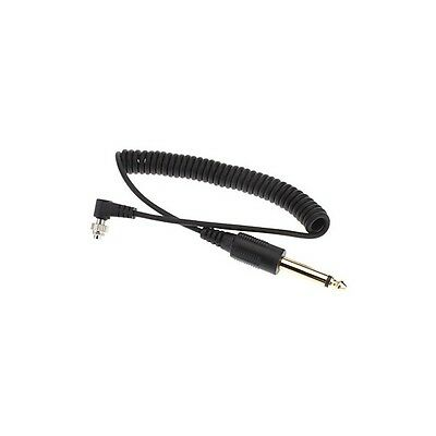 Cable de conexion 6.35 a PC sincro 1,5 metros para flash