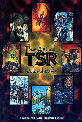 Art of TSR Colossal Cards - 5 Cards Booster Pack - englisch - ( A270 Kiste 13 )