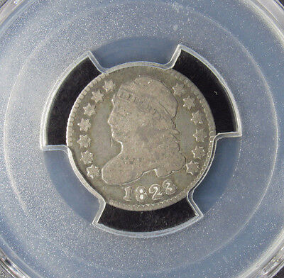 1823/2 Capped Bust Dime PCGS VG08 (896) SMALL E'S