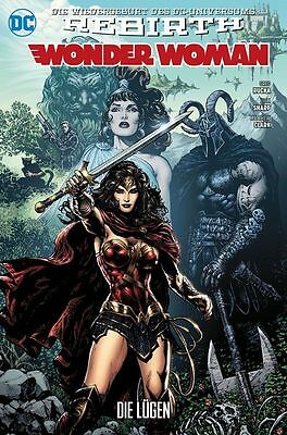 Wonder Woman 1 (Rebirth): Die Lügen (Variant-Cover) - Deutsch - Panini - NEUWARE