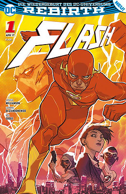Flash 1 (Rebirth): Die Flash-Akademie - Deutsch - Panini - NEUWARE