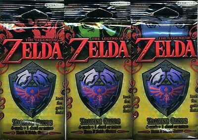 LEGEND OF ZELDA TRADING PACKS (3x Packs) (7 Items je Pack) - englisch - T021