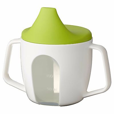 BORJA Training Baby Beaker Spill proof Two Handle Sippy Cup IKEA