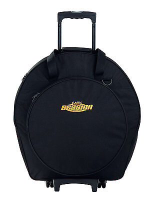 Valise a Roulettes Trolley pour Cymbale Batterie Percussion Drum Cymbals Etui