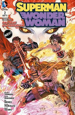Superman / Wonder Woman 2 - deutsch - Panini - NEUWARE -
