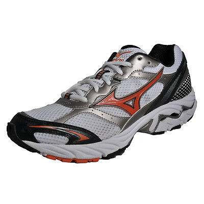 Mizuno Wave Sabre Mens Running Shoes Fitness Gym Workout Trainers White