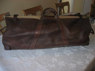 Quality Vintage Leather cricket bag
