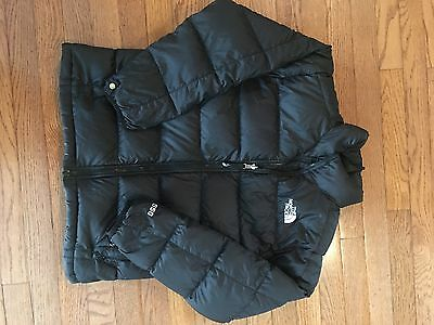 North Face Puffer Jacket Boys Size L 14/16 Black