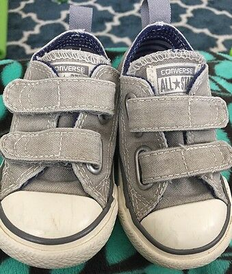 Converse Kids Chuck Taylor All Star Baby / Toddler Size 5 Grey/gray