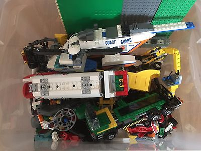 Job lot of Lego - Base Plates, Construction, Tankers spare parts Boards