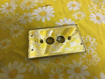 Vintage Mirror Light Switch Cover Push Button