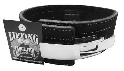 Economy 10mm Black Powerlifting Lever Belt - IPF Approved