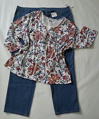 Lot of womens plus size clothes/ outfit size 22W and 3X- Lot R74
