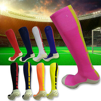 Mens Sports Goods Football Baseball Soccer Socks Over Knee High Rugby Hockey