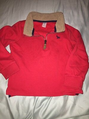 Boys Carter's Pullover Sweatshirt  Jacket Size 7 Pullover Pre-owned