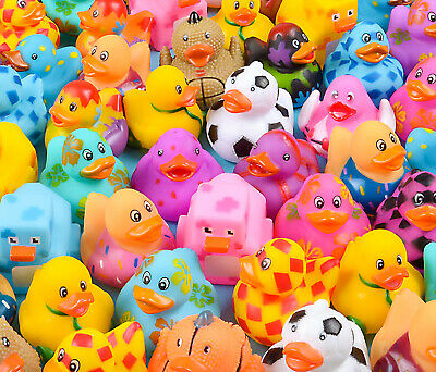 Rhode Island Novelty Rubber Ducks assortment 2 inches 50 Pieces Toys & Games