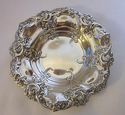 Gorham Sterling Silver Repousse Nut/Candy Dish 816 9