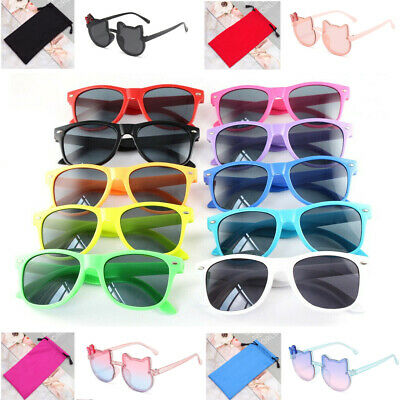 New Sunglasses Childrens Kids Girls Boys Unisex UV Sun Protection Shades Goggles