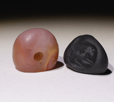 Superb Ancient Carved Agate Seal - Circa 500Bc  - No Reserve!