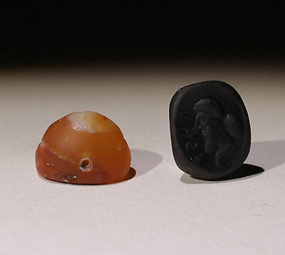 Quality Ancient Carved Agate Seal Circa 6Th Bc   - No Reserve!!!