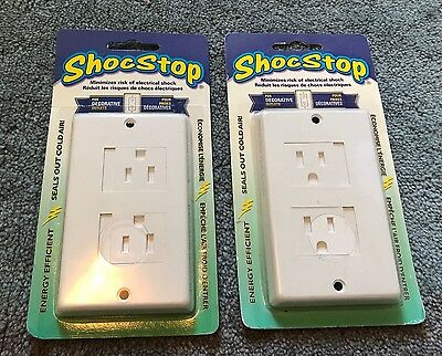 Child proof wall socket sliding cover - New just like your baby